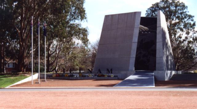 The Australian Vietnam Forces National Memorial